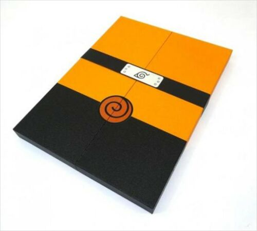 NEW NARUTO Episode 1 replication manuscript BOX SOUDEN Art Works Book Manga F/S