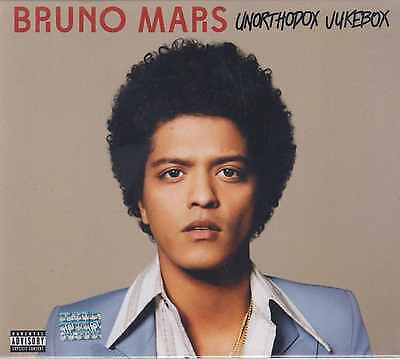Cd   Bruno Mars New Unorthodox Jukebox Includes 15 Tracks    Fast Shipping