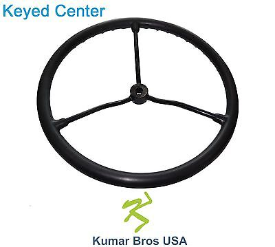 2n3600 New Oe Style Steering Wheel With Metal Spokes Fits Ford New Holland 2n 8n