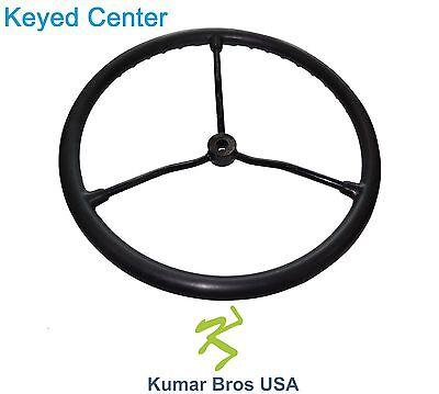 2n3600 New Oe Style Steering Wheel With Metal Spokes Fits Ford New Holland 2n 8n
