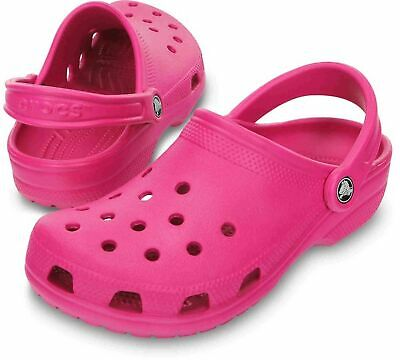 SABOT CROCS 10001-6XO CLASSIC ROOMY FIT CANDY PINK MODA MARE PISCINA DONNA - Candy Mare