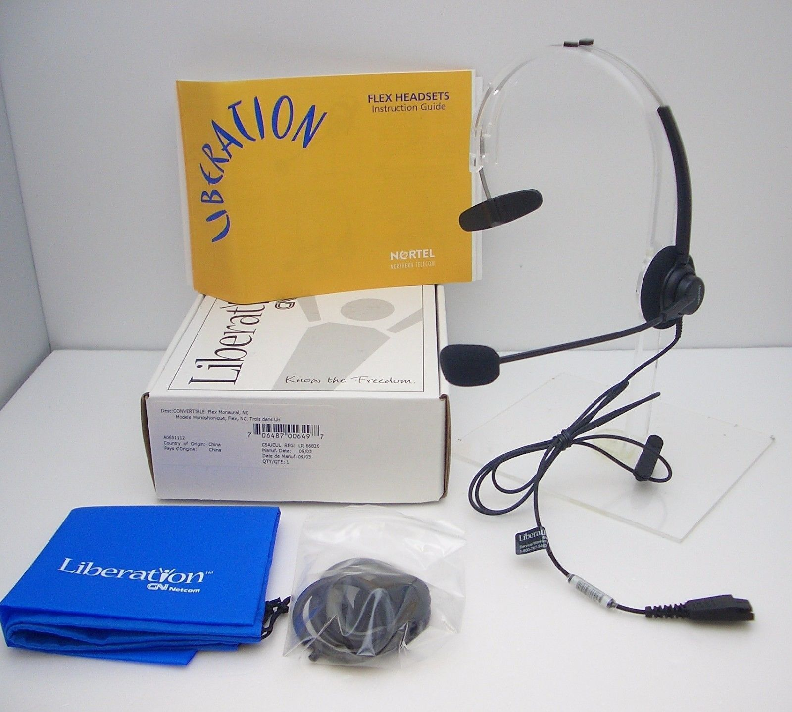 It requires Jabra Link 850 Amplifier which is not included