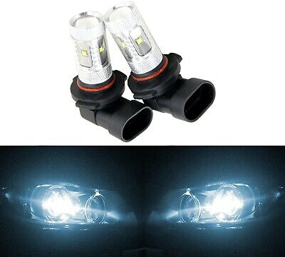 LED 30W 9005 HB3 White 6000K Two Bulbs Head Light High Beam Replace Stock