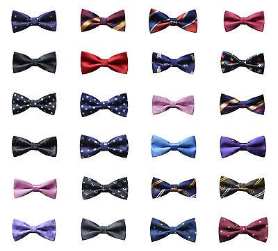 Mode Premium Jungen Mädchen Bowtie Party Multi Farbe Hochzeit Neuheit Fliege Neu
