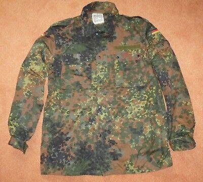 BW - Bluse flecktarn , BW-Gr. 19 ( Konfektionsgröße 54 überlang ) gebraucht kaufen  Zeuthen