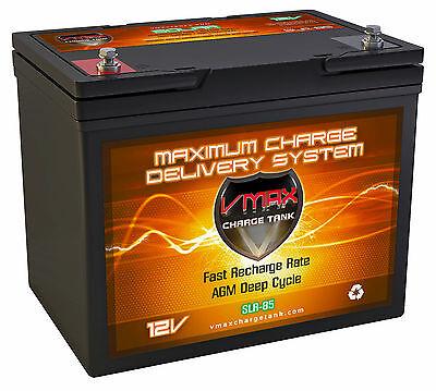 Slr85 Sla 12v Rechargeable Vrla Agm Battery For Solar Panelwindsmart Charger