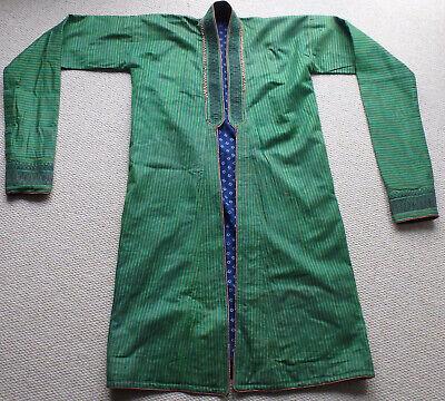 Antique Afghanistan tribal elder coat (Chapan) similar to Hamid Karsai