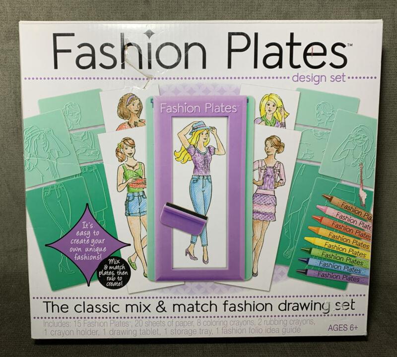 Fashion Plates Design Set, Kahootz,mix N Match Drawing