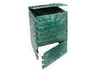 Compost bin, KOMP 250L, good looking, easy to assemble, used but good condition.