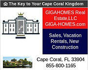 GIGA-HOMES - The Key To YOUR Cape Coral/ FL Kingdom