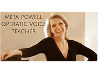 Operatic voice teacher - I will help you find your true voice