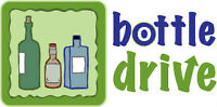 Collecting for Bottle Drive