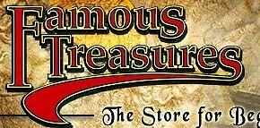 Famous Treasures