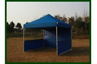 ISO 10' x 10' pop-up Tent for trade/craft shows