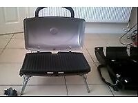George Foreman Grill/BBQ. Portable gas