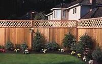 FENCE POSTS AND DECK FOOTINGS DUG AND SET PLUS REPAIRS