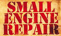 Small engine repair at a fraction of the cost