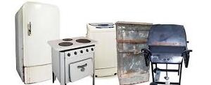 FREE SCRAP METAL/ APPLIANCE AND OLD CAR PICK UP