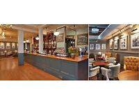 Friendly & enthusiastic barstaff wanted for beautiful Pub -Twickenham - £7.30+ p/h