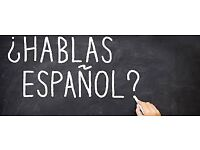 Experienced, native Spanish tutor. All levels. Location & time flexible.