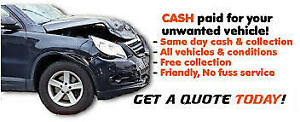 GET CASH TODAY IN YOUR HAND FOR SCRAP CARS! OPEN LATE! CALL US!