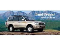 WANTED. Toyota Landcruiser 100 wanted. 2004 onwards.
