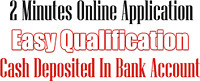HASSLE FREE LOANS WITH EASY APPROVAL AND NO CREDIT CHECKS!