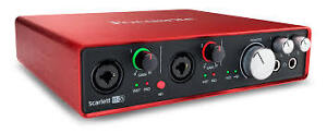 Scarlett 6i6   2 generation Audio interface as new