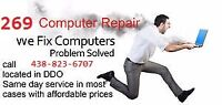 computers/laptop repairs done fast and will save you $$$$