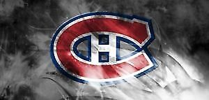 Billets du canadiens vs Arizona  jeudi  16 nov 50$ ch valeur 81$