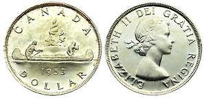 216 (6x6x6) Rare Canadian Silver Dollars