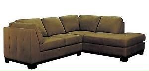 Mocha Oakdale Sectional- USED condition