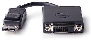 New Dell DisplayPort to DVI adapter