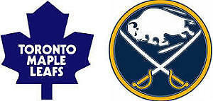 2 Tickets - Toronto Maple Leafs vs Buffalo Sabres - Sept 29