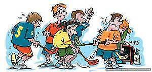 *TONIGHT*COME ON OUT 7:30 PCVS GYM FLOOR HOCKEY CO-ED $5.00 PP. Peterborough Peterborough Area image 1