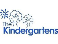 Teachers and Teaching Assistants wanted in Wandsworth and Kensington nurseries