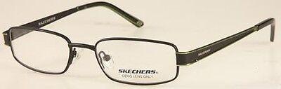 NEW Kids' Frame Skechers 1040 SBLK Satin Black glasses & case 0234