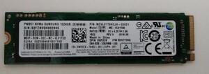 Samsung Pm951 1 TB (1024 Gb) M.2 NVMe Pci-e Solid State Drive SSD MZVLV1T0HCJH