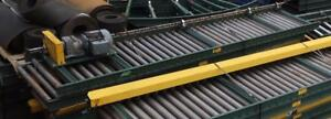 """Univeyor 30"""" x 10' Roller Conveyor w/ SEW Motor"""