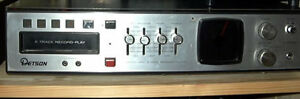 Detson Stereo 8 Track or complete system from late 70s