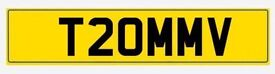 Private reg-T20MMV (Suitable for Tom/Tommy/Thomas etc)