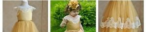 Flower girl dresses size2t-8 available Cambridge Kitchener Area image 3