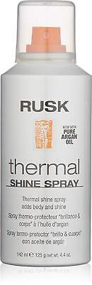 Pure Thermal (RUSK Thermal Shine Spray w/ Pure Argan Oil 4.4 oz. New )
