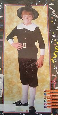 Boys Colonial Costume Size Large Size 8-10 Pilgrim Play Reenactments](Colonial Costume For Boys)