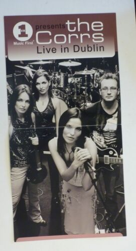 The Corrs Live in Dublin MTV 2001 Promo LP Record Photo Flat 12x24 Poster