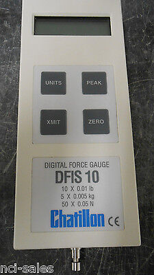 Chatillon Digital Force Gauge Dfis 10