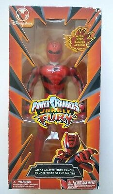 """Power Rangers Jungle Fury Red Master TIGER 5/"""" Ranger New Factory Sealed 2007"""