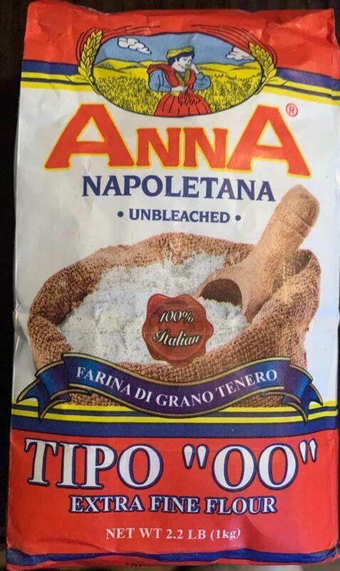 "Anna Napoletana Unbleached Tipo ""OO"" Extra Fine Flour"