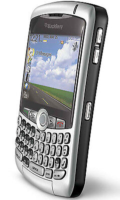 NEW RIM Blackberry 8300 Curve SMARTPHONE GSM SILVER Phone AT&T on Rummage