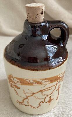 Vintage/Retro ZANE'S TRACE COMMEMORATION -Souvinier Brown Jug Mini-Zanesville OH